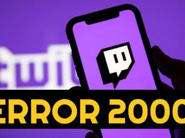 Twitch 2000 Network Error